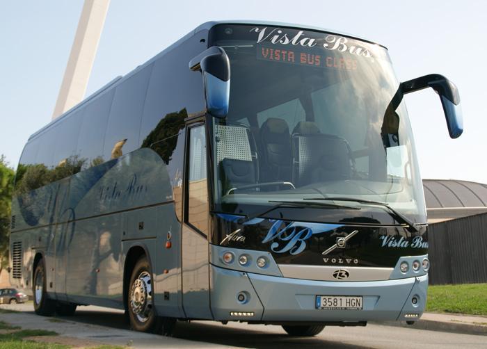 alquiler de autocares y microbuses en Barcelona