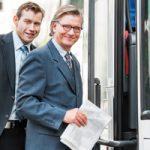 Autobuses para transportar a tus trabajadores: una buena idea