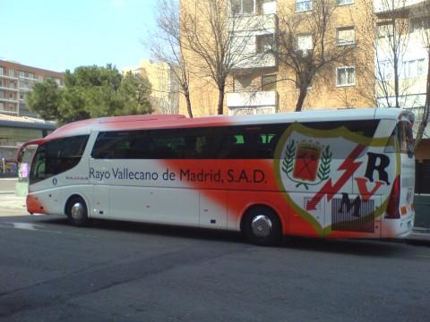 autocar rayo vallecano