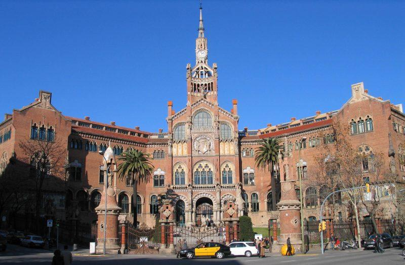 20061225-Barcelona_Hospital_de_la_Santa_Creu_i_Sant_Pau_MQ