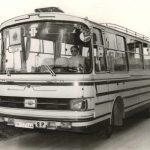 Autobús. Mirando al pasado