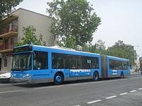 autobús articulado