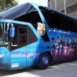 Los autocares de la liga BBVA 2014/15