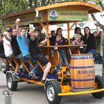 Descubre Madrid de la mano del autobús turístico Beer Bike