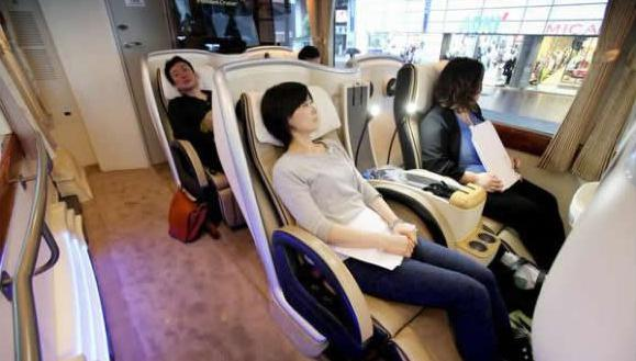 Japan and its exclusive luxury bus