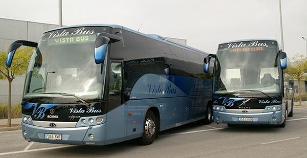 Aumenta el numero autobuses y autocares en España
