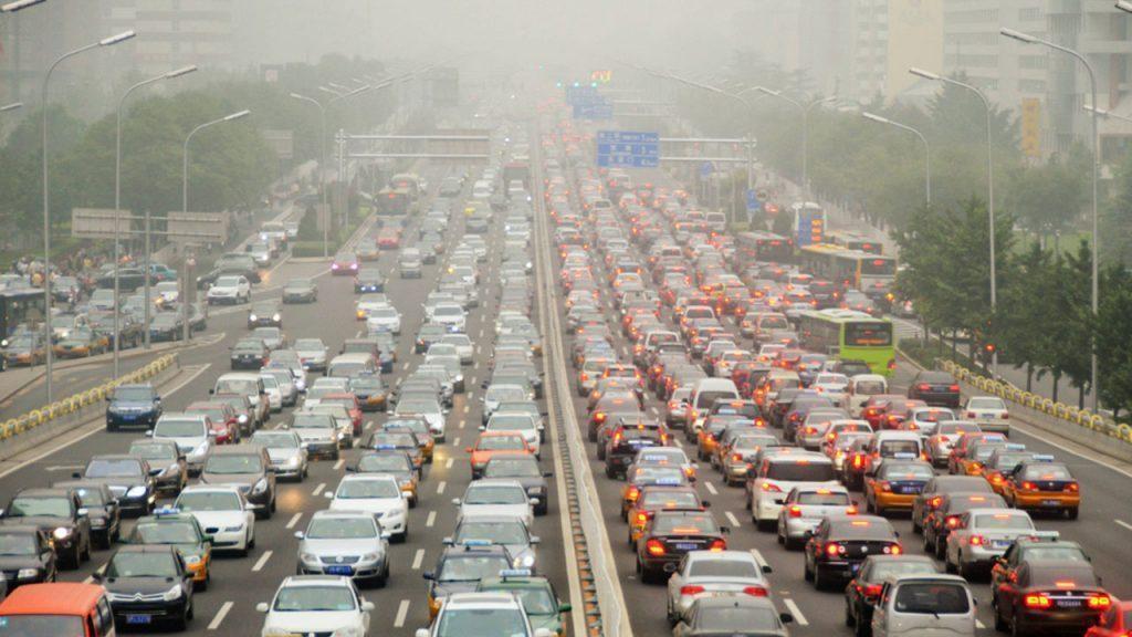 Contamincion por trafico