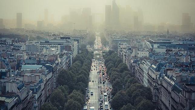 contaminacion trafico barcelona