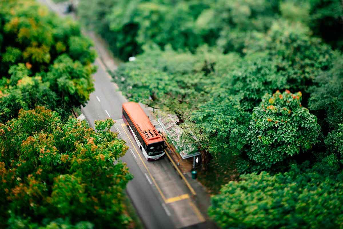 evacuar un autocar