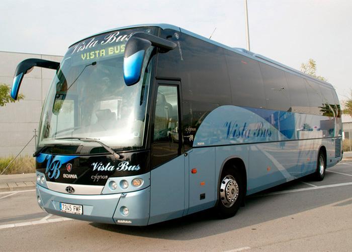 Coach rental in Barcelona