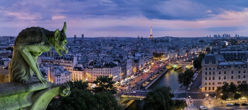 Gárgola en París