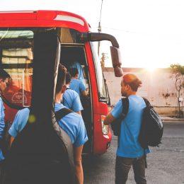 Viajar en Bus