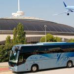 Viaja del aeropuerto en autobús hasta tu hotel