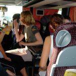 Qué hacer para pasar el rato durante un viaje en autobús