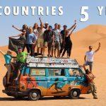 Una pareja da la vuelta al mundo en microbús